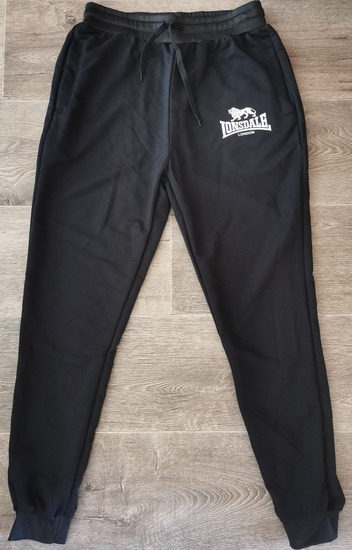 Lonsdale fekete jogger - S / M