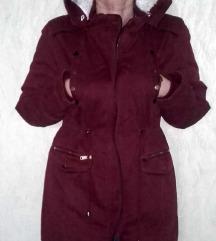 C.Z. Fantasy bordó, meleg téli kabát!