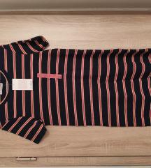 Pull&Bear csíkos pamut ruha 36/38 új! Címkés