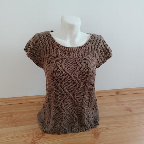 🍄 Miss H női pulóver / barna
