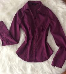 Padlizsán színű ing (ingyen postával)