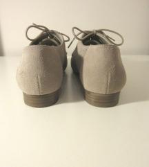 5th Avenue valódi velúrbőr bézs cipő 36
