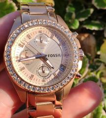 Fossil ES3352 rosegold női óra új