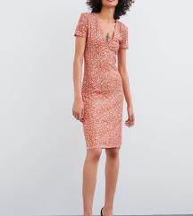 Zara virágos ruha, címkés
