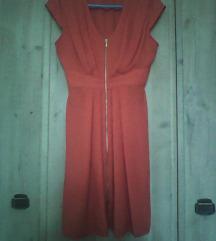 Vörös színű elegánsabb ruha H&M