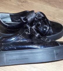 Kennel&Schmenger fekete lakkbőr cipő,újsz,40-41