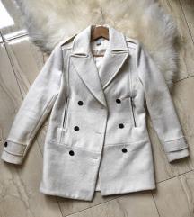 H&M gyapjúkeverék szövetkabát kabát S