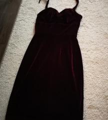 Alkalmi bordó ruha