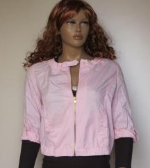 ÚJ! Bershka rózsaszín dzseki