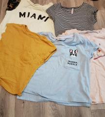 Márkás crop topok, pólók, ruhák 34