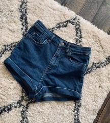 Zara high waist farmer short