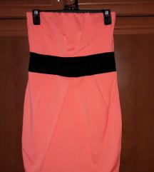Tally Weijl miniruhák neon narancs és fekete-pink