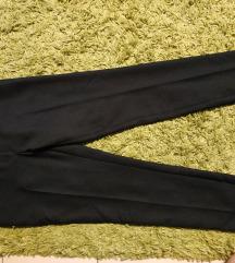 Fekete elegáns zsebes nadrág