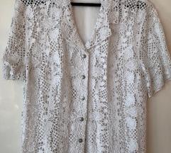 Lafei Nier fehér csipkés ing blúz női felső
