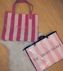 Victoria Secret nagy pakolós strand táska