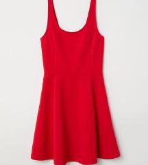 H&M ujjatlan dzsörzéruha piros