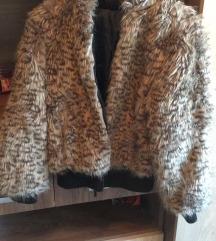 Leopárdmintás dzseki