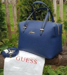 Matt kék Guess táska