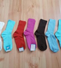 🍄Új színes pamut zokni / 36-37