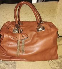 Nagy barna pakolos táska