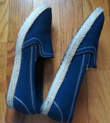 Tengerészkék espadrilles belebújós cipő 🧿