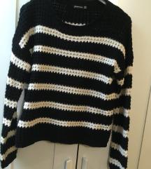 stradivarius kötött pulcsi