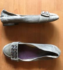 Tamaris strasszköves velúr topánka