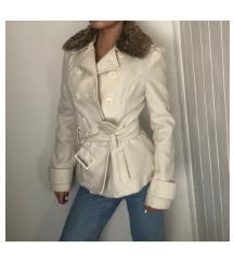 TALLY WEIJL fehér szőrmés kabát