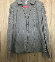 Fekete fehér csikos ing NEXT