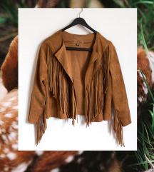 ♥ amisu velúr kabátka