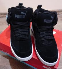 Új, eredeti, bundás Puma cipő