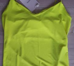 Bershka neonszínű top