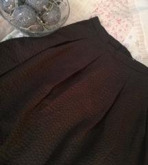 H&M fekete zsebes elegáns szoknya