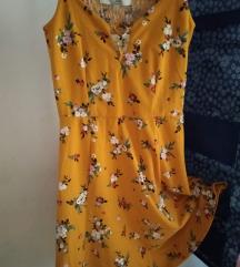 C&A virágos ruha, ÚJ, CÍMKÉS, XS