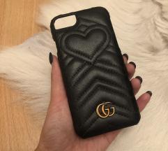 Gucci iphone 7 tok, bőr, hibátlan