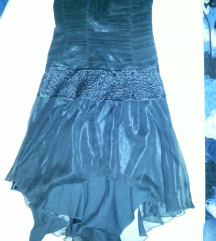 Charas fekete rövidebb ruha