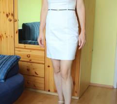 Fehér rövid, mutatós nyári ruha