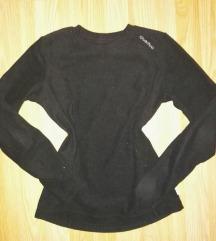 Fekete bársony pulóver