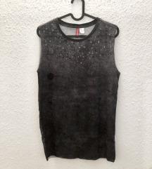 H&M lézervágott mintás póló