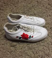 Virágmintás platform cipő (Cin Cin Amica)