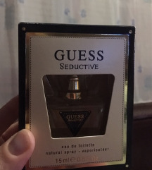 Eredeti guess seductive női parfüm 1-szer használt