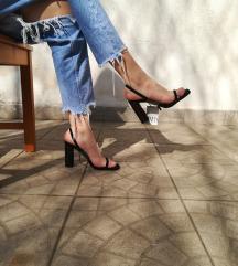 Új Zara Clear Sandals