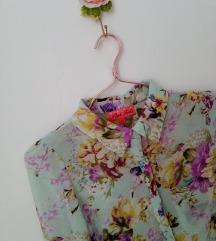 Pink Soda virágos muszlin ing UK12/40/M