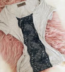 Zara póló csipke díszítéssel