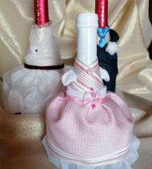 Esküvői / Nászajándék pezsgő ruha
