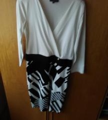 AMNESIA fekete fehér ruha