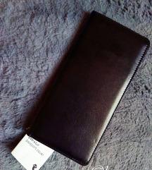 Fekete elegáns útlevél tartó