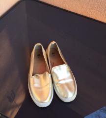 H&M arany Slip On cipő