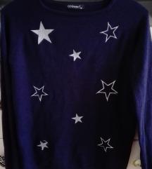 Csillagos pulóver  S/M
