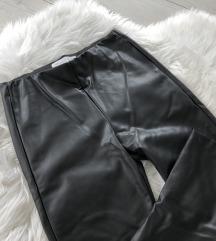 Zara Kids Faux Leather Jeggings